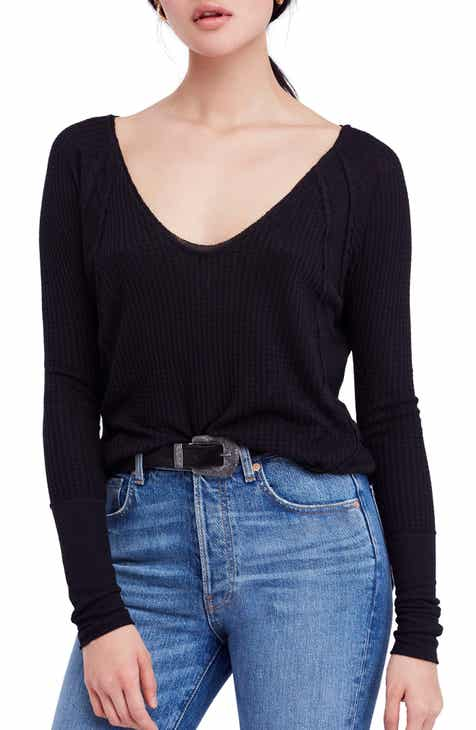 5ac1ee25bb5 We the Free by Free People Catalina V-Neck Thermal Top