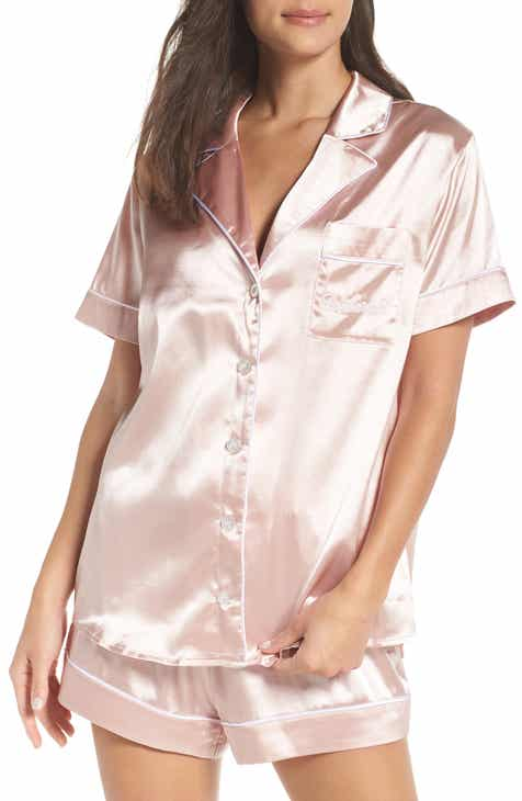 Lauren Ralph Lauren Lace Trim Short Pajamas by LAUREN RALPH LAUREN