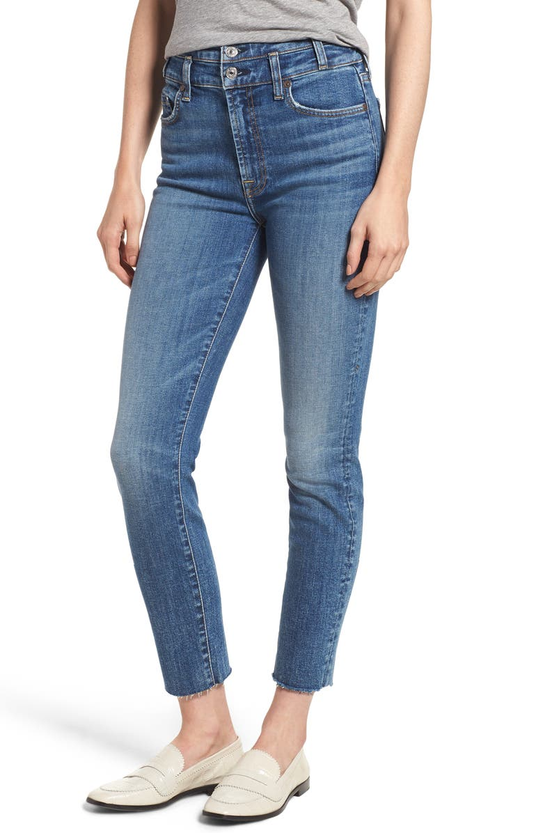 Roxanne High Waist Ankle Jeans