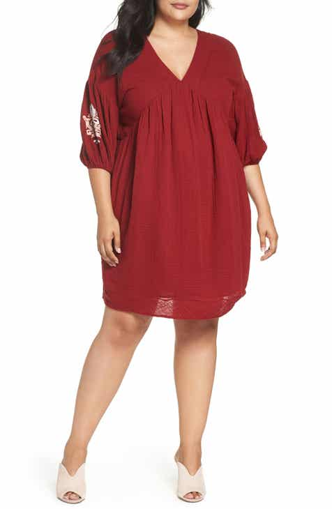 Red Plus Size Dresses Nordstrom