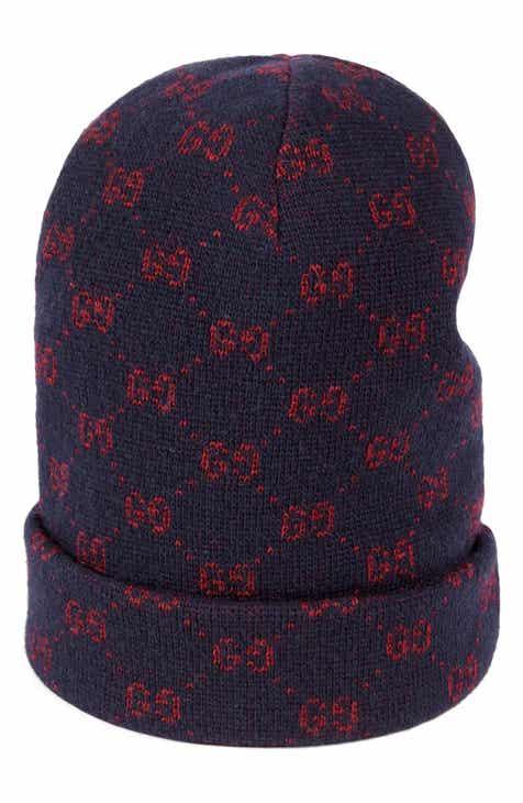 e2f4f451075 Gucci GG Knit Alpaca   Wool Cap