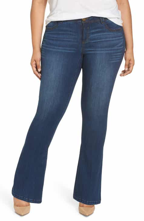 f6b117e0cf18f Wit   Wisdom Ab-Solution Itty Bitty Bootcut Jeans (Plus Size) (Nordstrom  Exclusive)