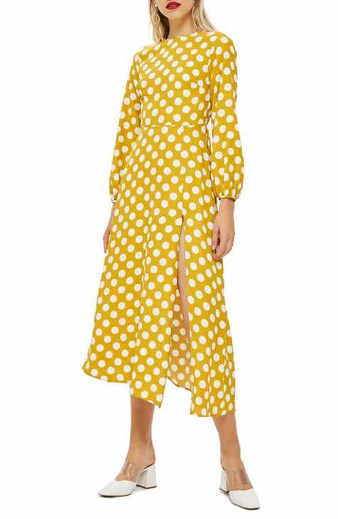 Top Open Back Midi Dress