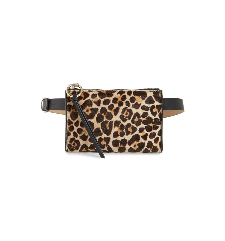 Rebecca Minkoff Ava Genuine Calf Hair Belt Bag | Nordstrom