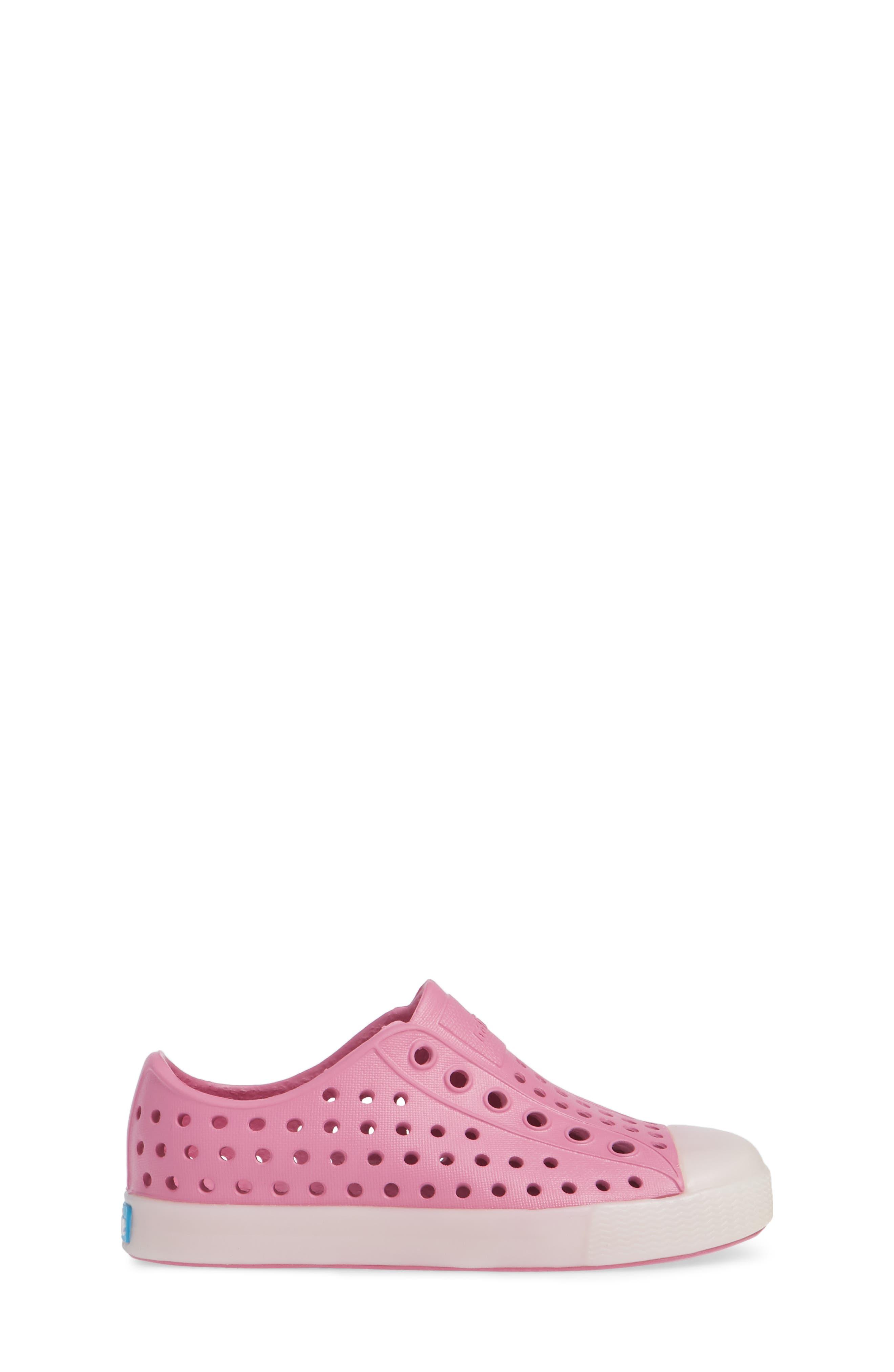 Jefferson - Glow in the Dark Sneaker,                             Alternate thumbnail 3, color,                             Woodward Pink/ Glow