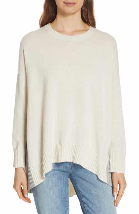 Eileen Fisher Oversize Cashmere & Wool Sweater (Regular & Petite) by EILEEN FISHER