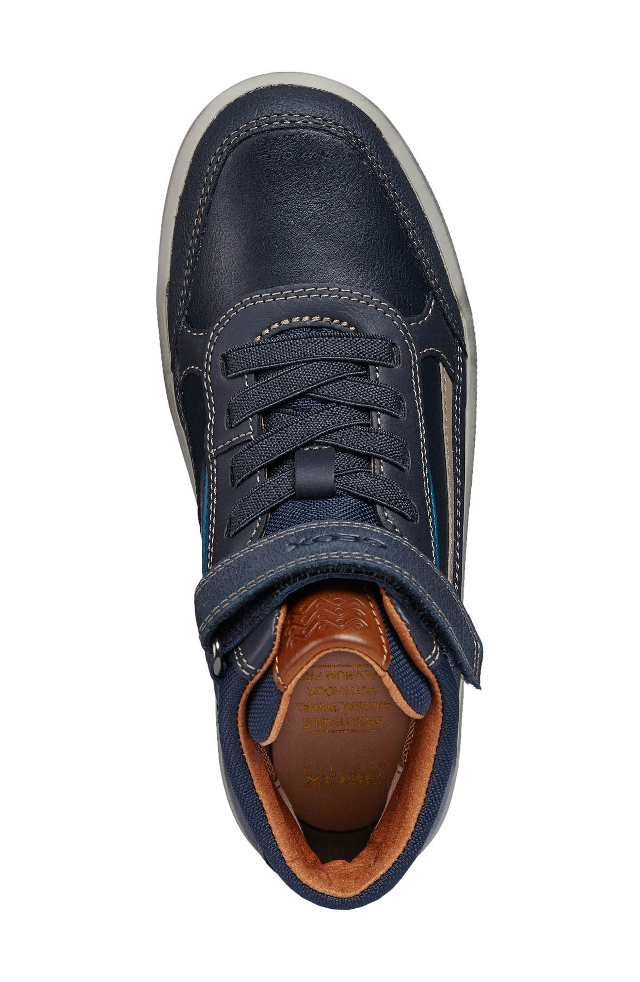 Arzach Mid Top Sneaker,                             Alternate thumbnail 3, color,                             Navy/Petrol