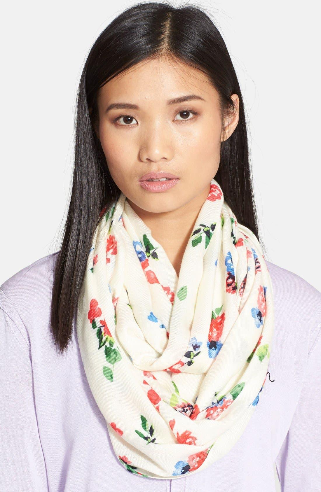 Main Image - kate spade new york 'spring garden' infinity scarf