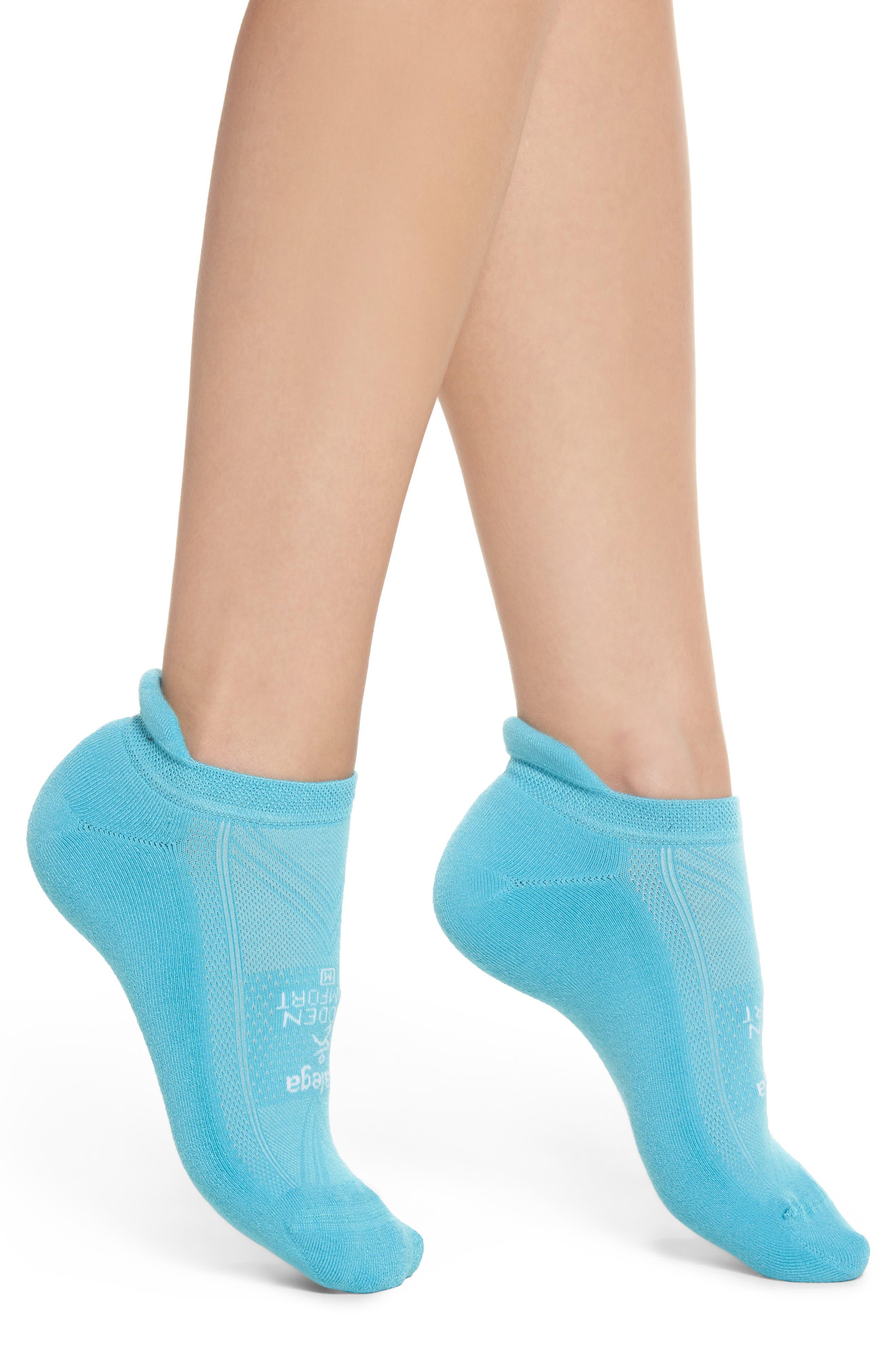Hidden Comfort No-Show Running Socks,                             Main thumbnail 1, color,                             Legion Blue