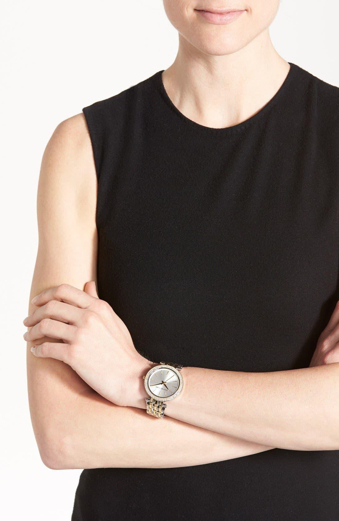 Alternate Image 5  - Michael Kors 'Darci' Round Bracelet Watch, 39mm
