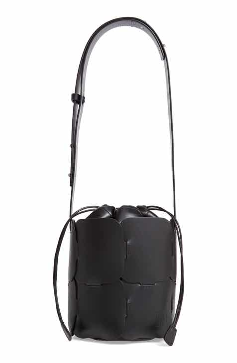 Paco Rabanne Mini Element Calfskin Bucket Bag