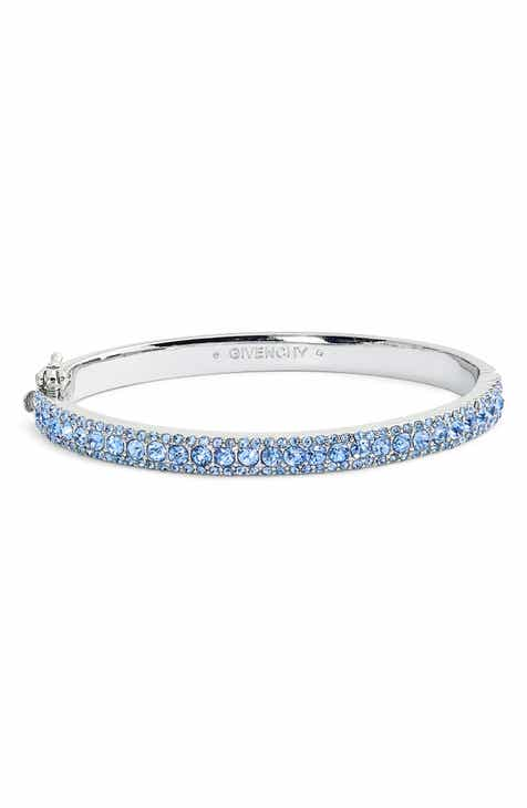 Givenchy Pavé Crystal Bangle