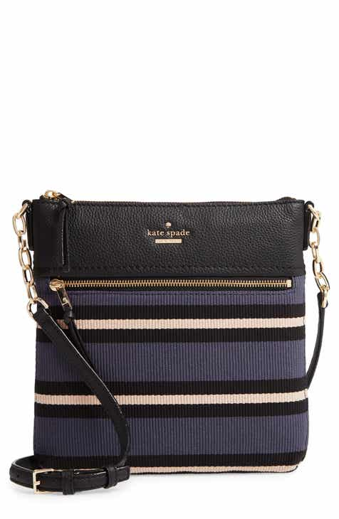 kate spade new york jackson street melisse fabric crossbody bag
