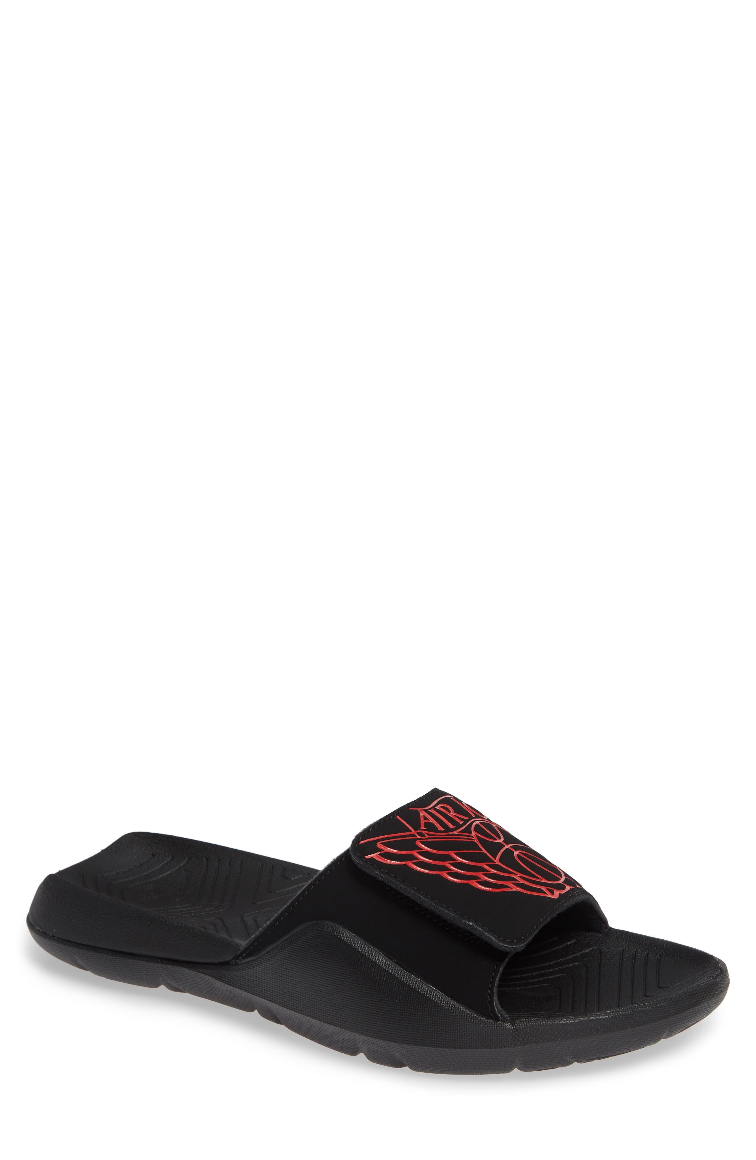 45e34453882e34 ... slide men f5b57 d3e74 get nike jordan hydro sport slide men f5b57  d3e74  shop nike mens kawa slide sandal mens nike lifestyle sandals 832646  010 black ...