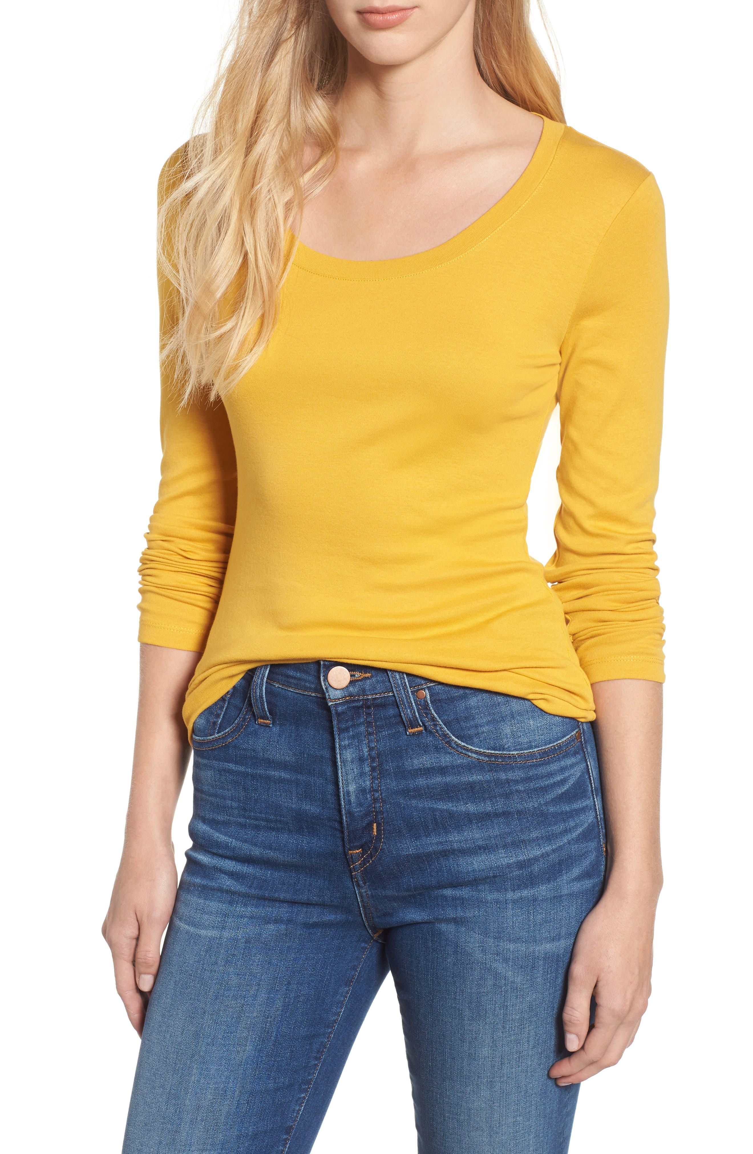 d2f7a1953fd Women s Yellow Tops