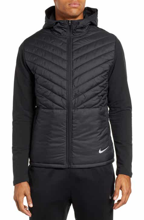0efe9c3a1e Nike AeroLayer Hooded Running Jacket