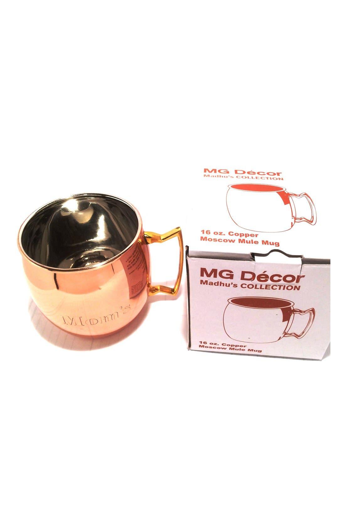 Alternate Image 3  - MG Décor 'Mom's' Copper Mug