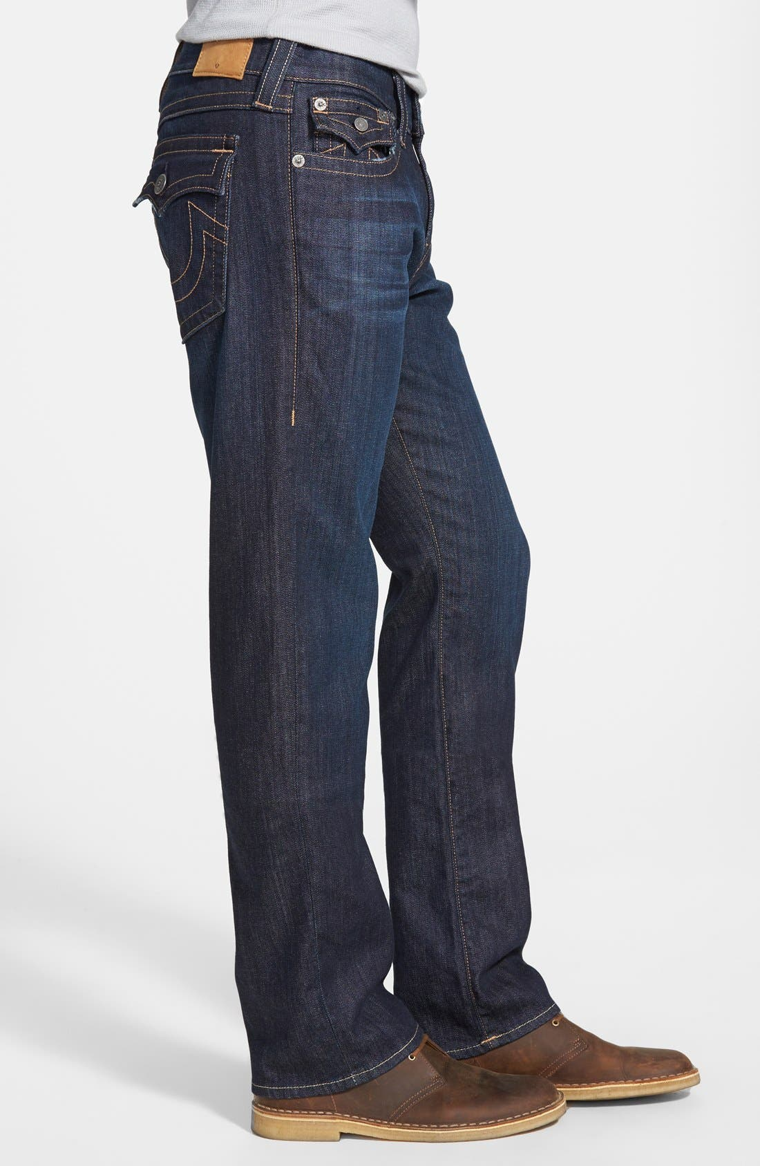 Alternate Image 3  - True Religion Brand Jeans 'Ricky' Relaxed Fit Jeans (Wanted Man)