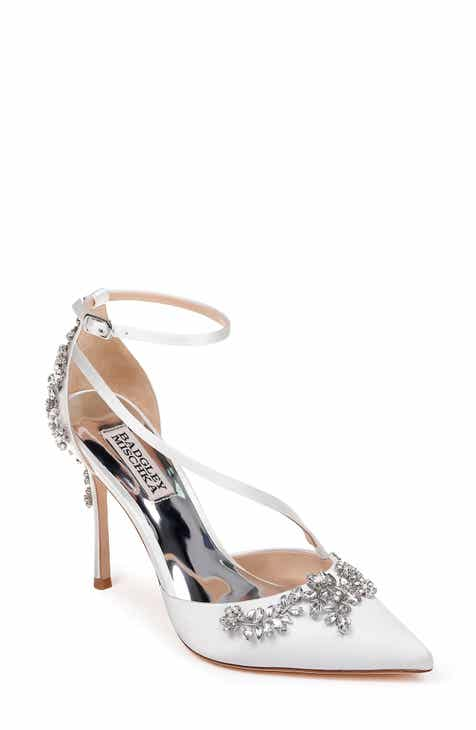 72a4b340298 Badgley Mischka Faith Ankle Strap Pump (Women)