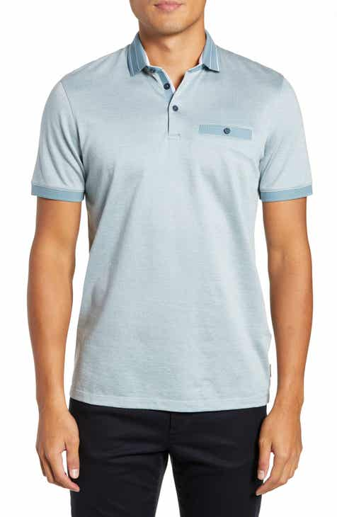 32325f85457a8 Ted Baker London Munsan Slim Fit Short Sleeve Polo