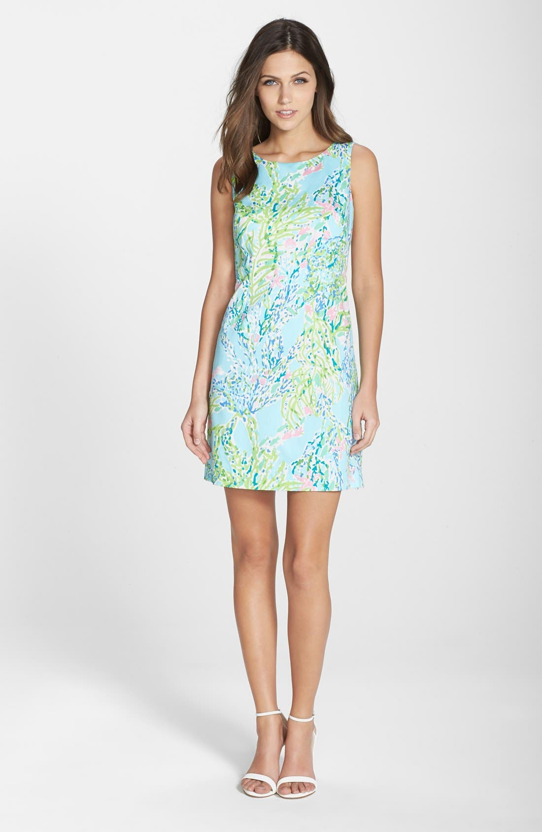 Alternate Image 3  - Lilly Pulitzer® 'Cathy' Cotton Shift Dress