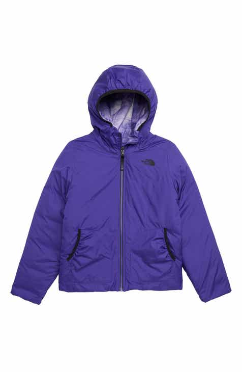 8c31258f3f9 The North Face Perrito Reversible Water-Repellent Hooded Jacket (Big Girls)