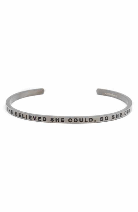 Mantraband She Believed Could Cuff