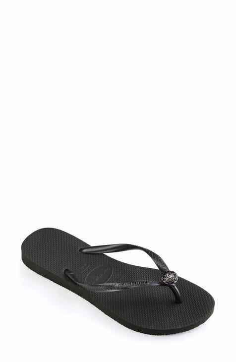 c89ab10ad0e6f Black Havaianas Flip-Flops for Women