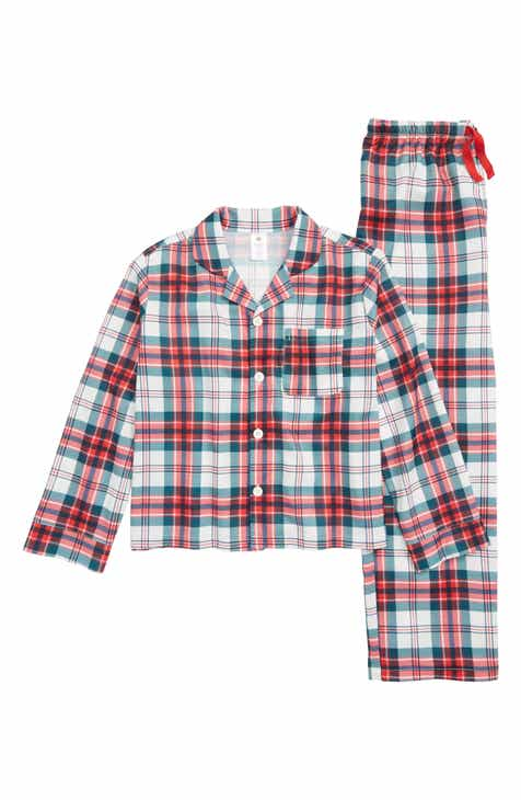 nordstrom two piece flannel pajamas toddler little kid big kid - Nordstrom Christmas Pajamas