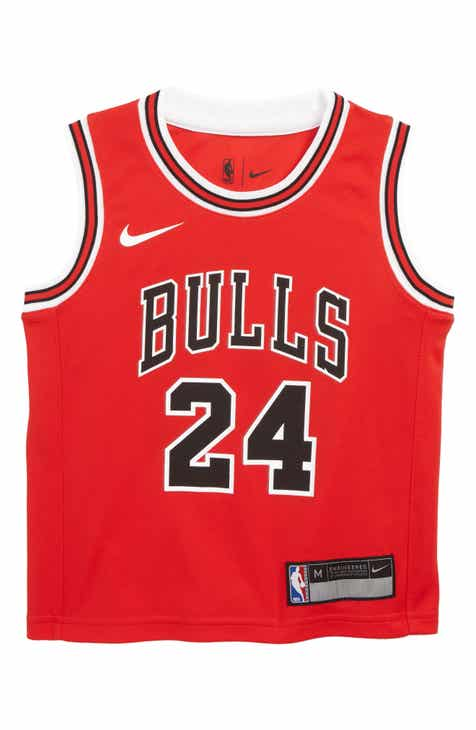 Nike Chicago Bulls Lauri Markkanen Basketball Jersey (Little Boys)