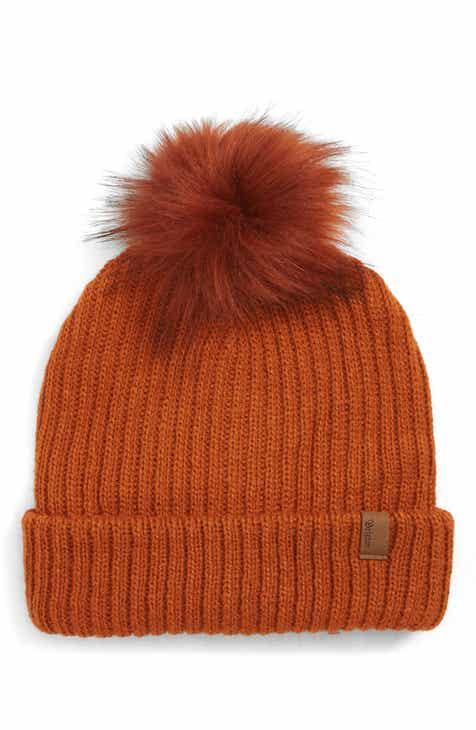 b3cb2d6857c Brixton Alison Faux Fur Pom Beanie Hat