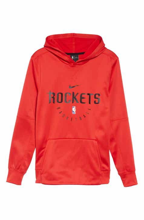 Nike Chicago Bulls Spotlight Dri-FIT Pullover Hoodie (Big Boys)