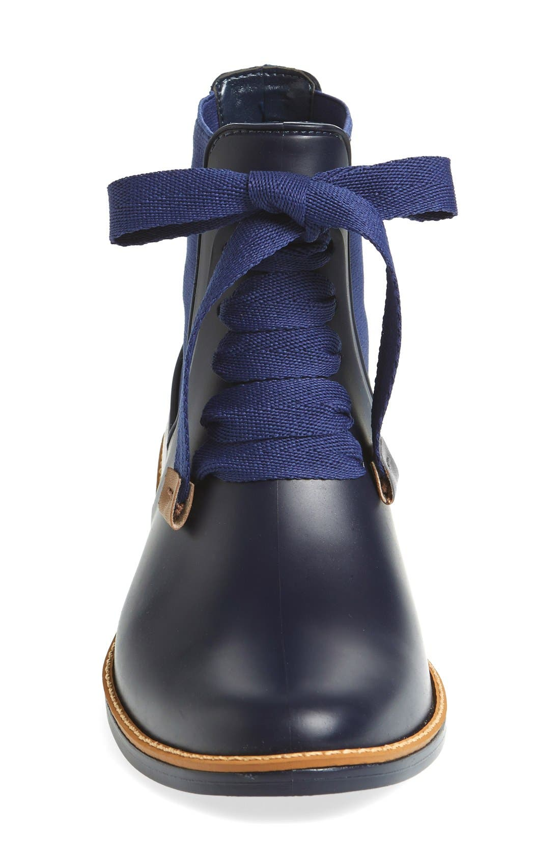 Alternate Image 5  - Bernardo Lacey Short Waterproof Rain Boot (Women)