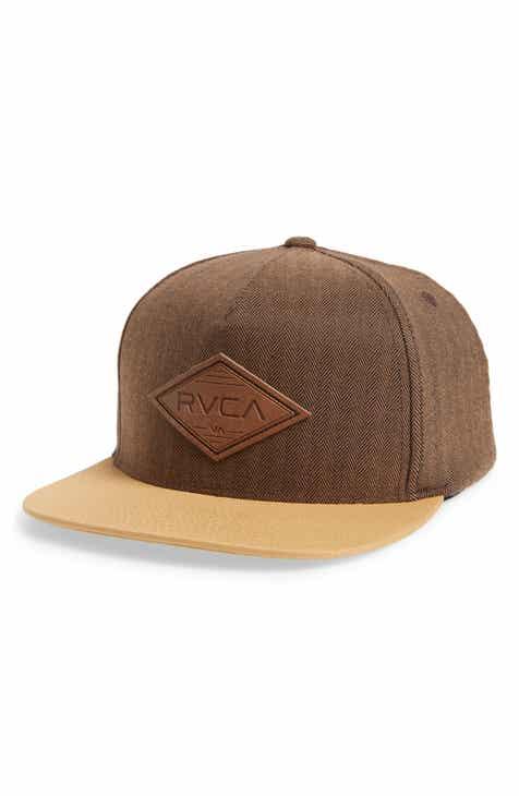 RVCA Woods Logo Trucker Hat d77fa6a7669b