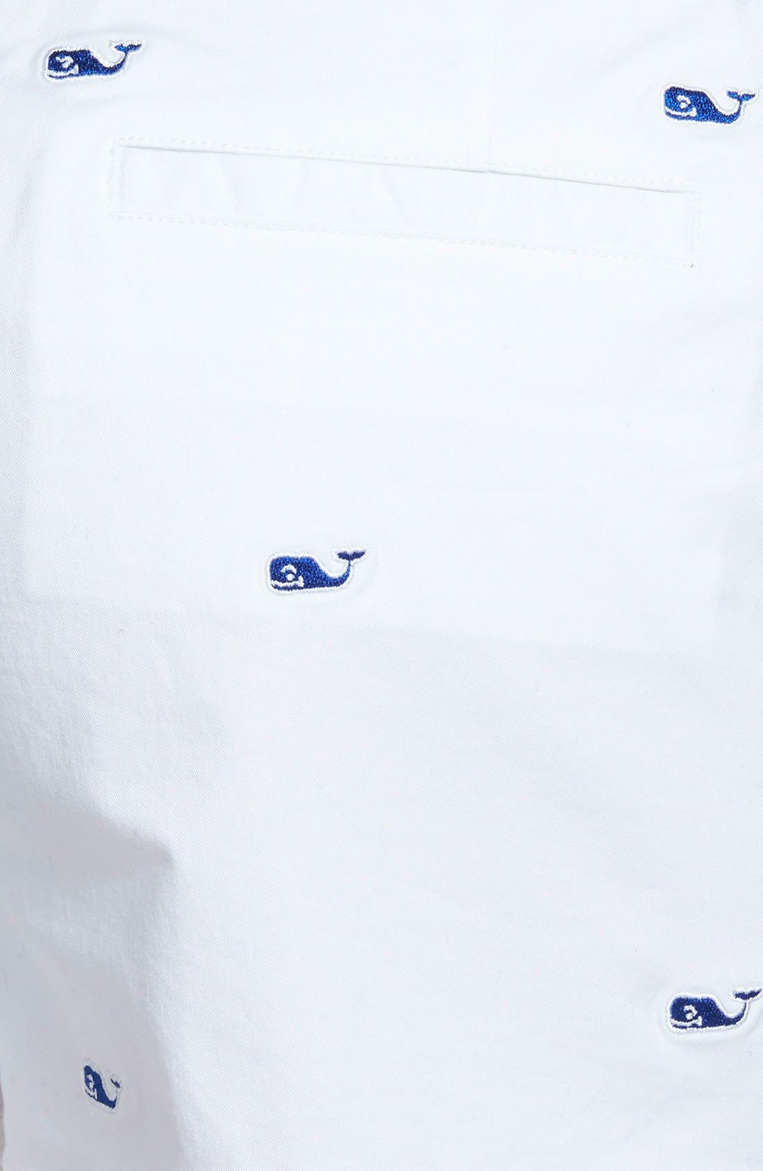 Alternate Image 3  - Vineyard Vines 'Dayboat' Embroidered Shorts