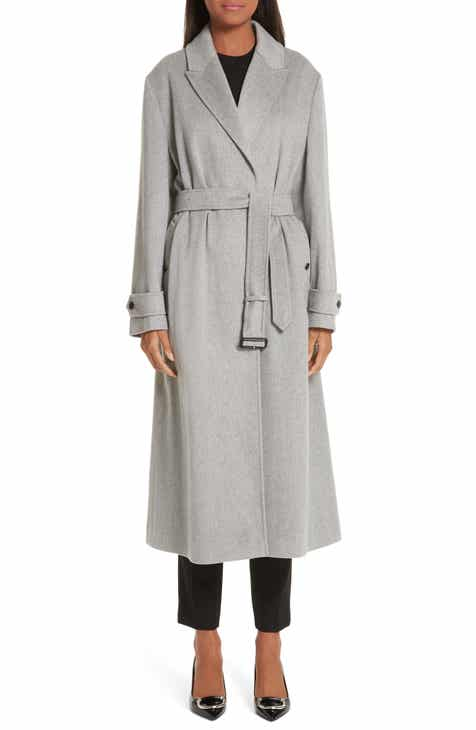 Burberry Oxshott Wrap Cashmere Coat by BURBERRY