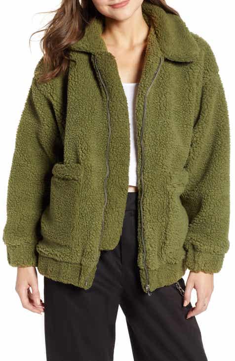 GIA Pixie Faux Shearling Jacket 7ccb1ff74