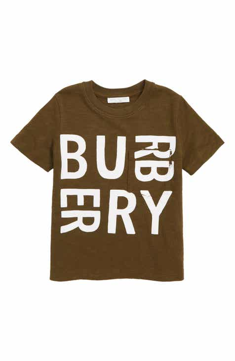7f629e08e94f Burberry Furgus Log Graphic T-Shirt (Toddler, Little Kid & Big Kid)