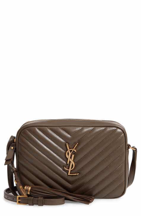 9e5d4c4a985ef Saint Laurent Medium Lou Calfskin Leather Camera Bag