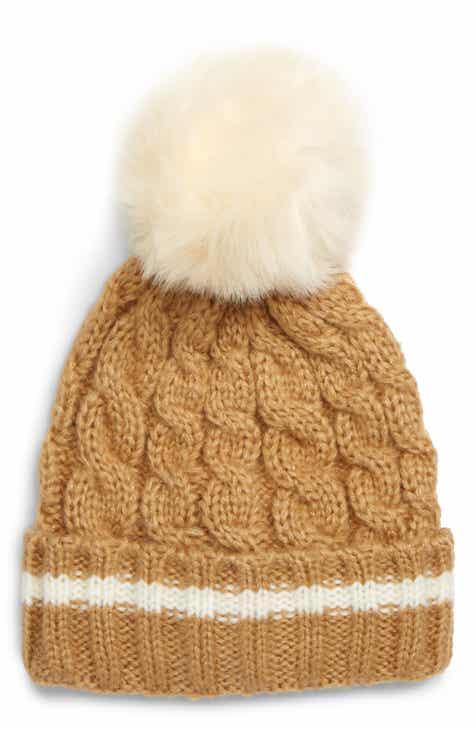 4289203e7ef Shiraleah Toni Hat with Faux Fur Pom