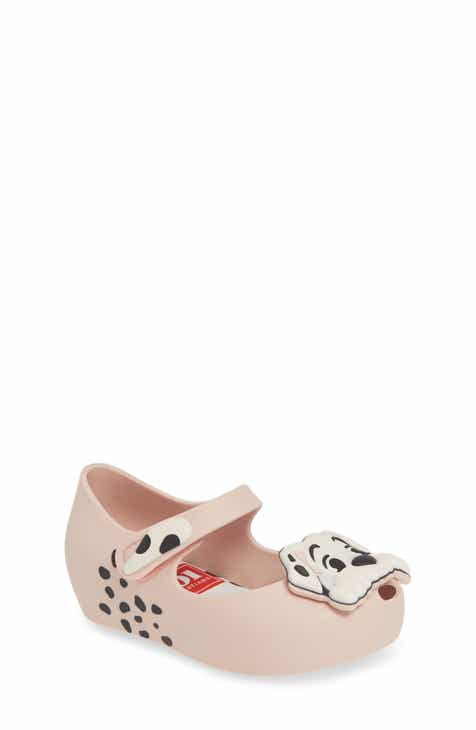 Mini Melissa Disney 101 Dalmatians Ultragirl Flat (Walker & Toddler)