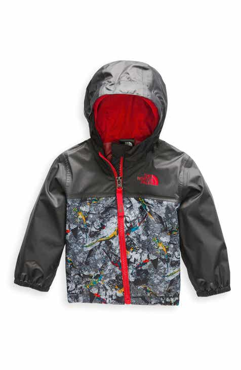 The North Face Zipline Hooded Rain Jacket (Baby) 49a1dea2a