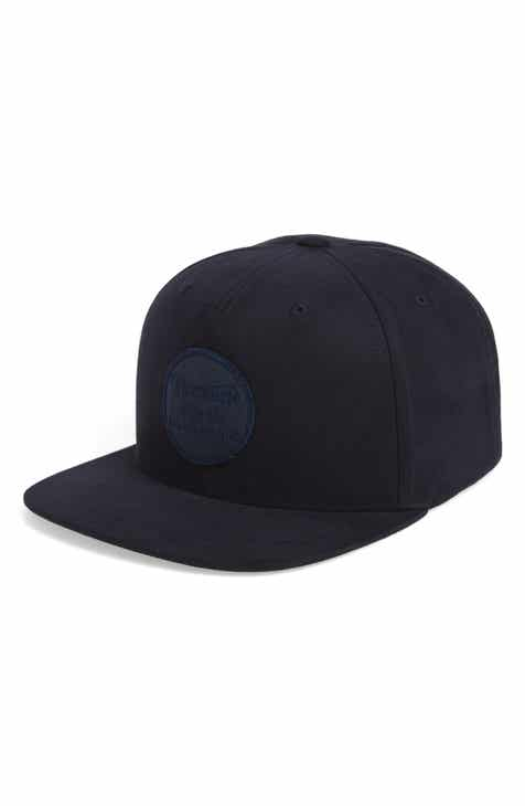 f872b080118 Brixton Wheeler Logo Patch Cap