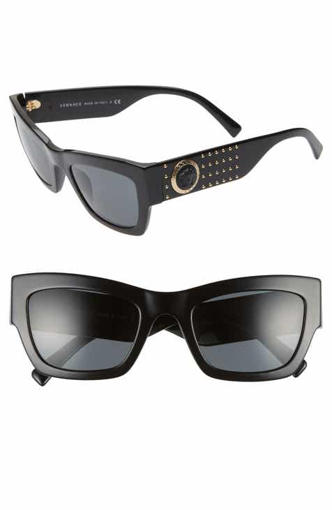 30815996fd7 Versace Medusa 52mm Square Sunglasses
