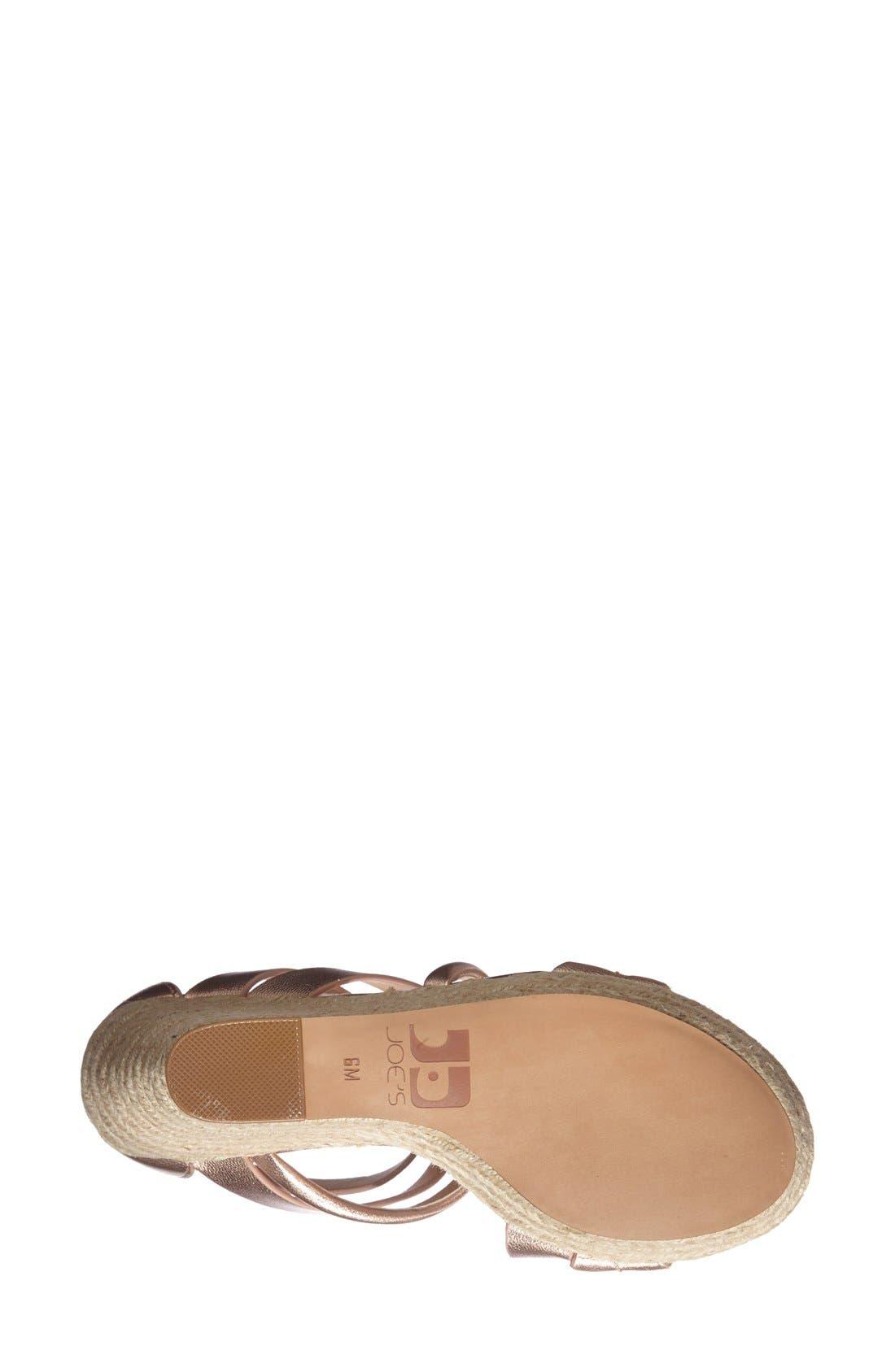 Alternate Image 4  - Joe's 'Robina' Espadrille Wedge Sandal (Women)
