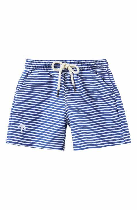 aefa60324c OAS SWIM Stripe Swim Trunks (Toddler Boys, Little Boys & Big Boys)