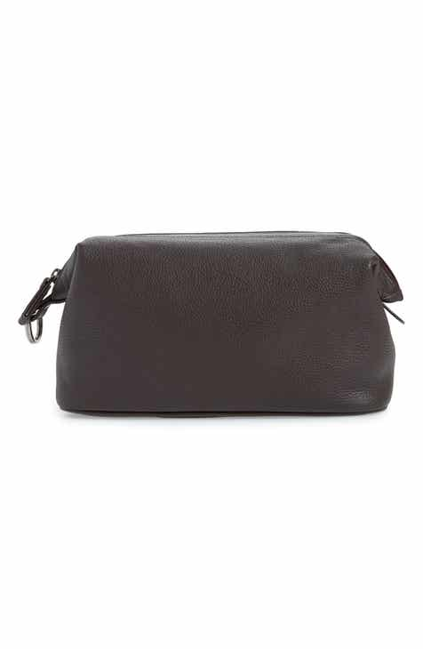16b132201333 Nordstrom Men s Shop Midland Leather Dopp Kit