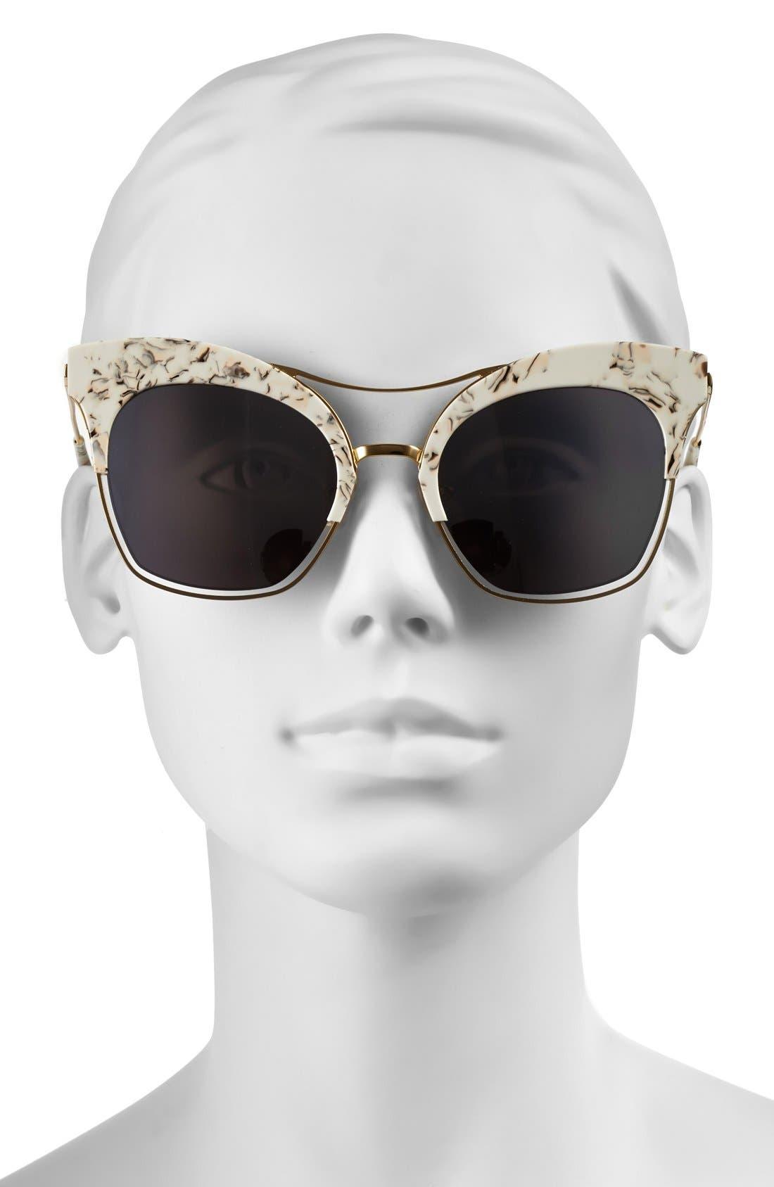 Alternate Image 2  - Gentle Monster 54mm Cat Eye Sunglasses