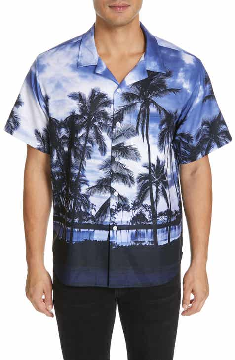 c854c27f Noon Goons Royal Hawaiian Print Woven Shirt