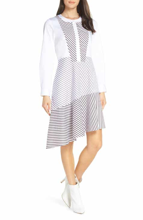 64e58efa38b Chelsea28 Asymmetrical Shirtdress (Regular   Plus Size)
